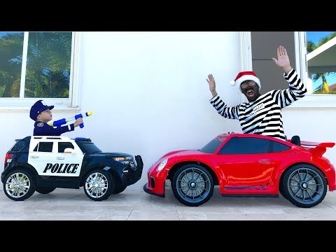 Xxx Mp4 POLICE BABY Playing With TOYS And Pretend Play With Police Cars 3gp Sex