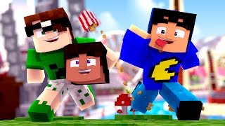 Minecraft: TAZERCRAFT É MINECRAFT ♫ (Minecraft Animation)