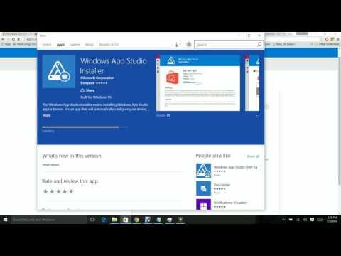 How to convert website into windows 10 app using Appstudio hosted webapp