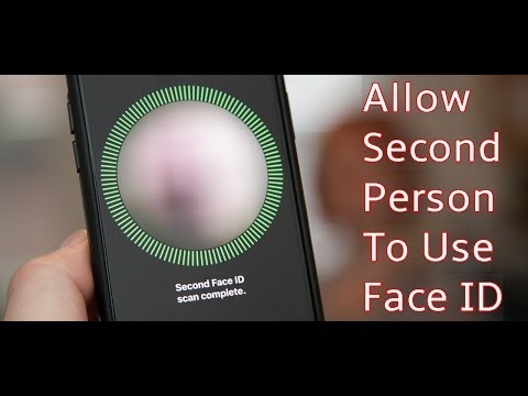 How to Allow a Second Person to Use Face ID on Your iPhone X, XS, XS Max or XR
