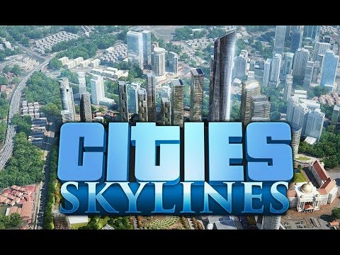 Cities Skylines Part 1 - Let's Start a New City with After Dark, Green Cities and Mass Transit