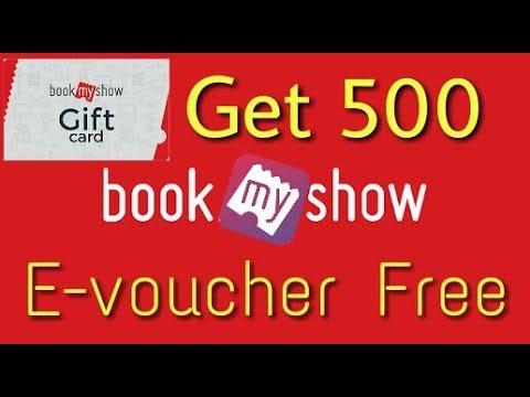 Get 500 Book My Show E-voucher Free