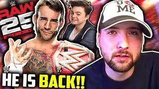 CM Punk Returns To WWE RAW This Month!! (SeanzViewEnt Clickbait)