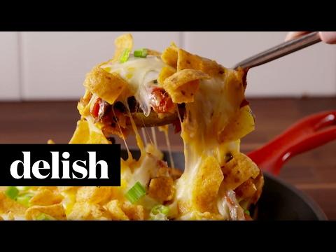 Chicken Frito Pie | Delish