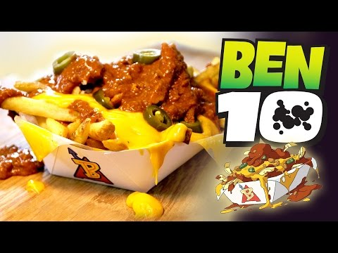 How to Make CHILI FRIES from BEN 10! Feast of Fiction S6 E4