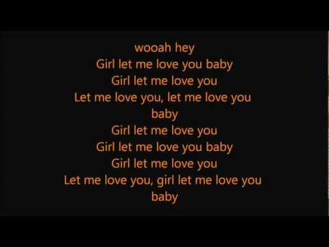 Ne-Yo - Let me love you ( until you learn to love yourself ) [ LYRICS ]