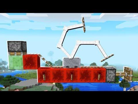 Infinite SELF BUILDING MINECART TRACK in Minecraft!