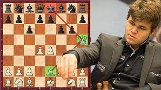 Unbelievable! Magnus Carlsen Faces A Queen Sacrifice On Move 4