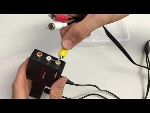Bleiden HDMI2AV Video Converter for Amazon FireTV Stick