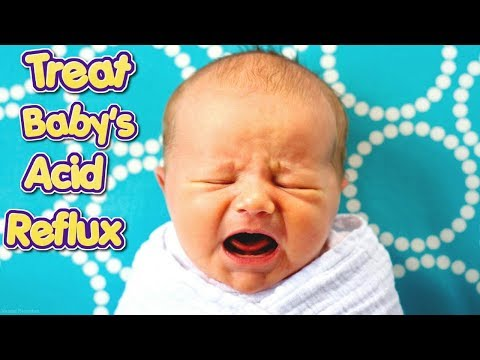 5 Natural Ways To Treat Acid Reflux In Infants #NaturalRemedies