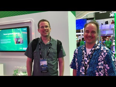 VMworld 2017 US - at Veeam, Michael White and Joe Lareau from HyTrust discuss encryption