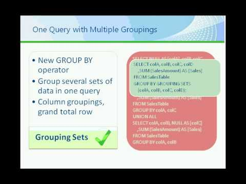 Microsoft SQL Server 2008 R2 - Data Warehouse Scaling and Performance.wmv