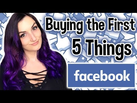 I Bought The First 5 Things Facebook Recommended To Me