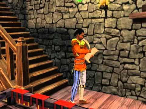 The Sims Medieval - Bard's life