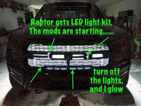 Raptor goes old school with light kit making it glow