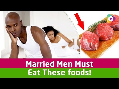 Married Men Must Eat These foods! Instant Energy Boosting Foods!!