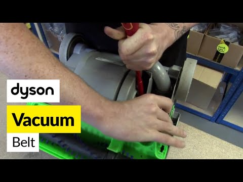 How to replace the Dyson belt on a Dyson DC04 vacuum cleaner