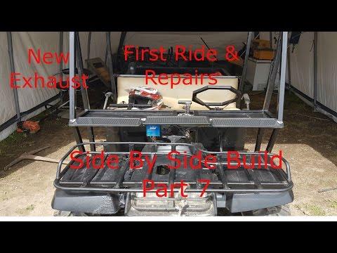 2 Seater Go Kart Built From ATV Part 7