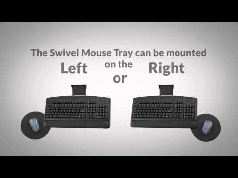 Safco Keyboard Platforms - Dual Adjustment