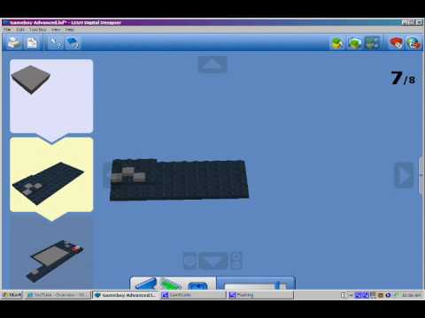 How To Make A Lego GameBoy SP