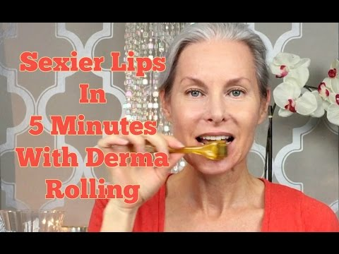 Sexier Lips In 5 Minutes With Derma Rolling