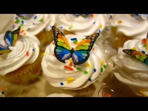 Edible Butterfly Cake Toppers Overview! *As Seen on Our Daily Vlogs*