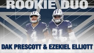 Dak Prescott & Ezekiel Elliott: Top 5 Moments of The 2016 Cowboys Season | NFL Highlights