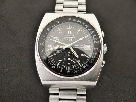 Vintage 1973 Omega Speedmaster 125 Watch