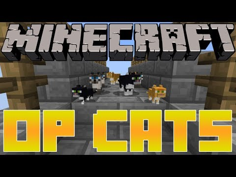 PS3 Minecraft Cats are OverPowered| Finding Ocelot In Jungle Biomes| Creepers Weakness