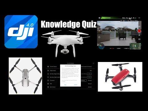 DJI Knowledge Quiz for DJI Go 4 (Spark/Mavic Pro/Phantom 4)