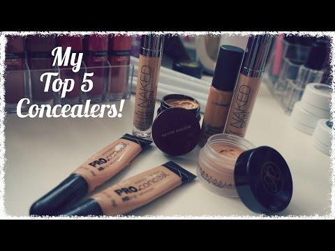 My Top 5 Concealers - Medium/Tan Indian Pakistani skintone