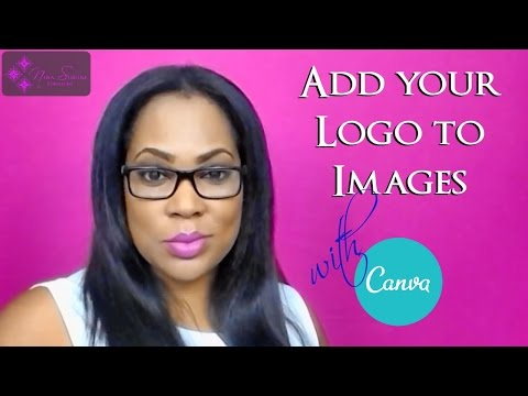 Watermark How to add Your Logo Watermark Overlay To Images (Canva)