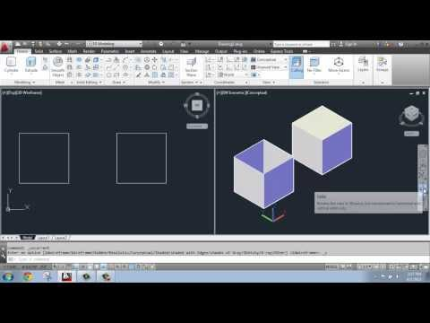 AutoCAD 2013 - 3D Modeling Basics #5 - Extruding: Solid vs. Surface - Brooke Godfrey
