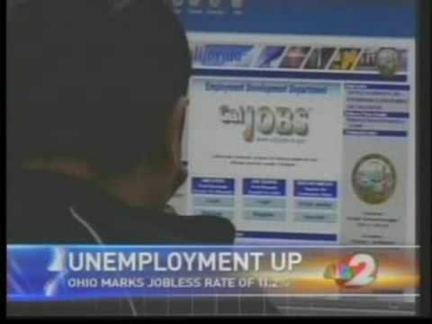New Ohio unemployment numbers