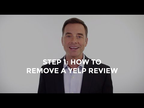 How to Remove a Yelp Review (Step 1)
