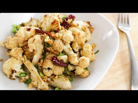 Five-Spice Roasted Cauliflower Recipe ดอกกะหล่ำผัดพะโล้ - Hot Thai Kitchen