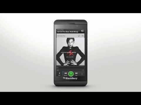 Touch Screen Gestures: BlackBerry Z10 - Official