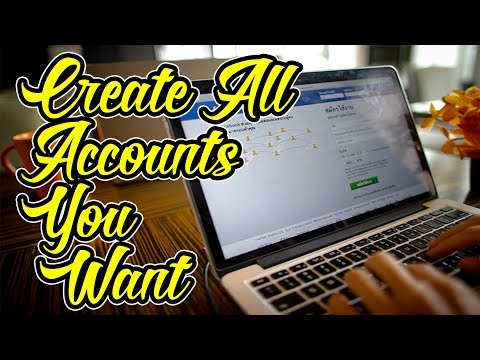 How to Make fake facebook accounts in less than 2 minutes