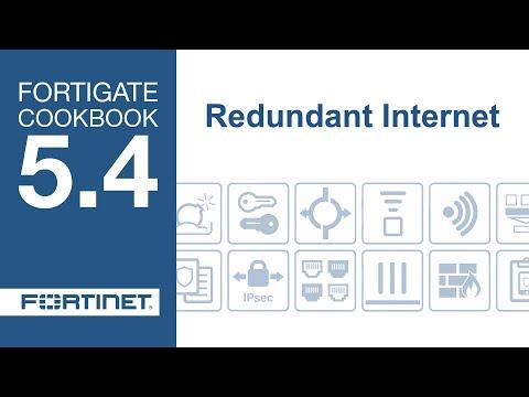 FortiGate Cookbook - Redundant Internet (5.4)
