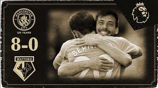 HIGHLIGHTS   Man City 8-0 Watford   Silva, Aguero, Mahrez, Bernardo (3), Otamendi, De Bruyne