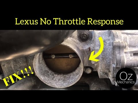 Lexus Throttle Body Not Working
