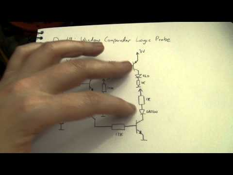 Advent Calendar of Circuits 2011: Day 19: Window Comparator Logic Probe