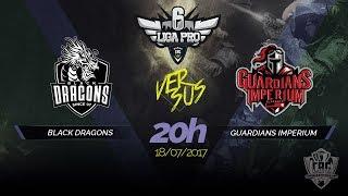 LIGA PRO - BLACK DRAGONS VS GUARDIANS IMPERIUM