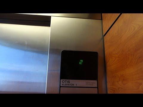 OTIS Series 1 Traction Elevators @ McNulty Parking Garage, St. Petersburg, FL, USA.