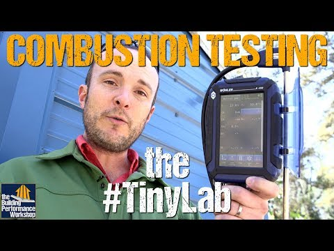 Combustion Testing the #TinyLab using Wohler A450