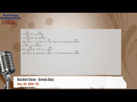Green day - Basket Case Guitar Cover lyrics + Tabs! - Green Day ...