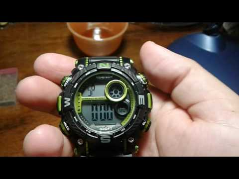 HOW TO WORK THE ARMITRON WATCH
