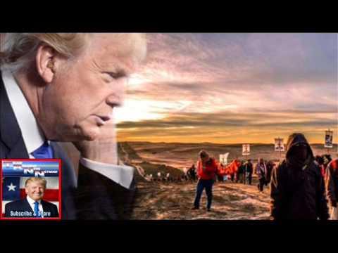 President Trump Signs Executive Order Approving Keystone, Dakota Access Pipelines