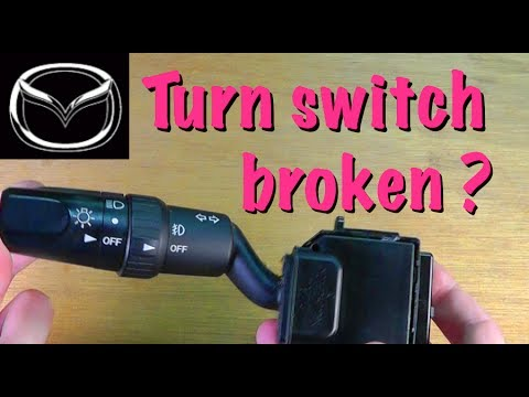 Fixing the turn signal switch FOR FREE on a Mazda 3