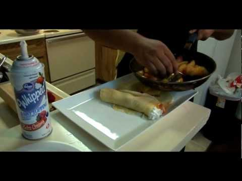 How to Make Crepes with Fruit
